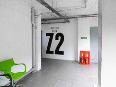Zetland House Signage #interior #signage