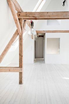 Loft 130m by Loft Szczecin. #attic #minimalist #loftszczecin