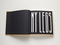 book, type