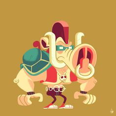 Glen Brogan Beebop #beebop #design #tmnt #illustration #character