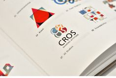 Los Logos Compass - CROS #erdokozi #red #group #attitude #cros #orange #logo #people #colors #erik #blue #sharing