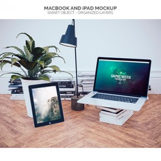 Macbook in an office mock up Free Psd. See more inspiration related to Mockup, Template, Office, Laptop, Web, 3d, Website, Mock up, Templates, Website template, Macbook, Up, Web template, Realistic, Real, Web templates and Mock on Freepik.