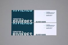 fondationriv_05 #water #stationary #business #design #corporate #blue #cards