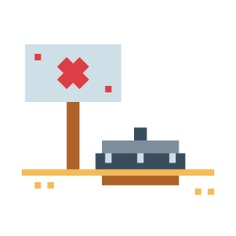 See more icon inspiration related to mine, antitank, miscellaneous, military, weapons, bomb and war on Flaticon.
