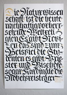 Flyer for a lecture about my work at FEDRIGONI Berlin | Flickr - Photo Sharing! #calligraphy