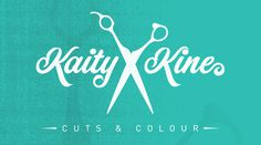 Logo design done for a local hair stylist. #shop #barber #scissors #hair #barbershop #logo #teal