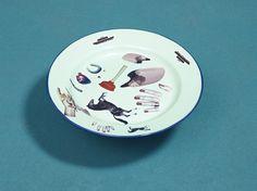Seletti & Toilet Paper #plate #horse #lipstick