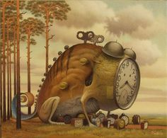 Surreal Paintings by Jacek Yerka #yerka #surreal #jacek #paintings