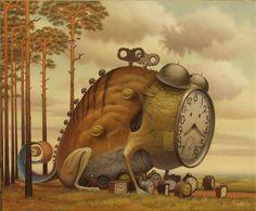 Surreal Paintings by Jacek Yerka #yerka #surreal #jacek #paintings