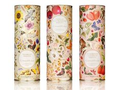 Crabtree and Evelyn Food on the Behance Network #packaging #pattern #box