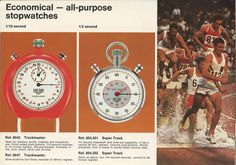 Heuer Catalog #clock #retro #stopwatches #heuer