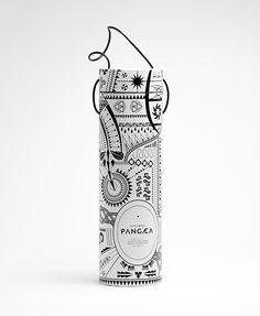 Nu206 #packaging #design #graphic #label #illustration