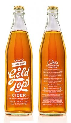 Austin Gold Tops Cider