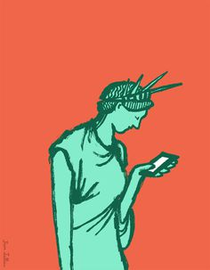 #newyork #illustration #statueofliberty #jeanjullien
