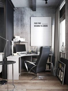 Interior design, work space