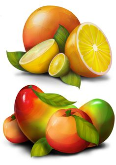 Steaz Illustrations #illustration #line #colour #fruit