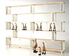 Pietro Piarotto Bookcase Skaffa Wood Random - furniture, furniture design, #design, modern furniture, #furniture
