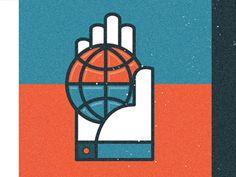Globe 3 #hand