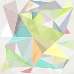 Nordic Combination 11 Art Print #triangle #combination