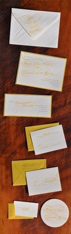 So Good Together Letterpress Stationery
