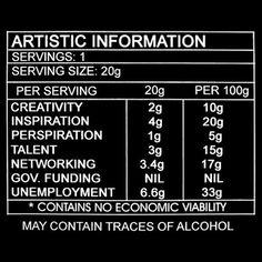 9GAG - Artistic Information #design #art