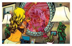 Atlantic Zombie Comic Style Geek Art By Nathan Fox #nathan fox