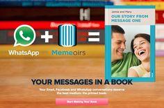 Memeoirs – Your Online Conversations in a Book #tech #flow #gadget #gift #ideas #cool