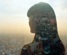 City Silhouettes Project by Jasper James #silhouettes #woman