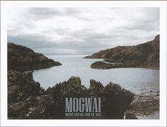 GigPosters.com - Mogwai - Balam Acab - Umberto #music #photography #poster