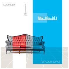 Parlour Sofas, Cosmicity #album #design #graphic #art #cosmicity