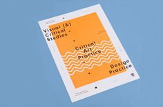 DIT Masters of Arts Programme #simple #cover #dublin #programme #two #tone #cian mckenna