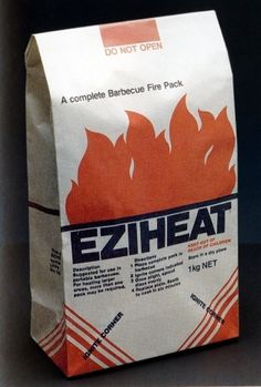 Item 146: Ezi-Heat packaging / John Nowland / 1980s « Recollection #packaging #grid #design