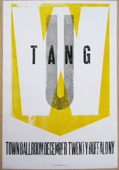 GigPosters.com - Wu Tang Clan #gig #poster #tang #clan #wu
