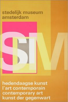 Visual Kontakt - Design, Fashion, Photography, Architecture, Illustration and Typography: Poster Design #crowell #william #pink #design #orange #posters #typography
