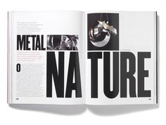 Futu Magazine Matt Willey #type #layout #magazine #typographic #editoral