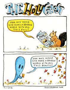 #comics #holyghost