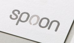 Spoon logo by Eighth Day Design #logo #branding #restaurant