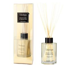 Fragrant Reed Diffuser French Vanilla & Jasmine Tea, 125 ml