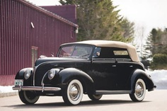 Glorious Ford V8 Deluxe Phaeton From 1938 Up For Auction