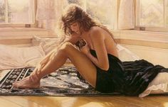 Watercolor Paintings by Steve Hanks | Cuded #steve #watercolor #hanks #paintings