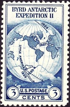 File:Admiral Byrd Antarctic Expedition 1933 Issue-3c.jpg - Wikipedia, the free encyclopedia #stamp #1930s