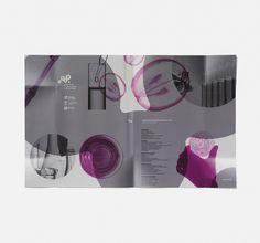 instituto de ciencias de la vid y del vino. destacado. www.moruba.es #logo #identity #wine #purple #spanish