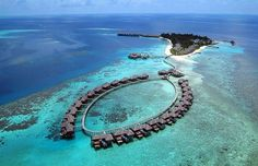 Paradise-Like Coco Palm Bodu Hithi Resort, Maldives | Freshome #photography #architecture #travel #resort
