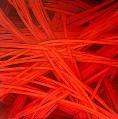 Red by Luciano de Liberato - abstract composition #artwork #painting #red #art