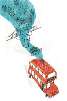 Competitions : Juliana Salcedo Portfolio #bus #juliana #london #salcedo #illustration #transport