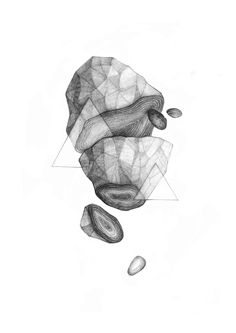 In/Organic on Behance #illustration #abstract #pencil #conceptual #form