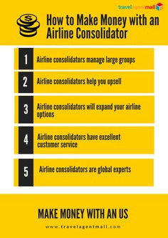 How To Make Money With An Airline Consolidator | Airline & Travel Trends | Travel Technology
