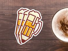 #beer #icon #pencil #drink-n-draw #threesevenfive #illustration