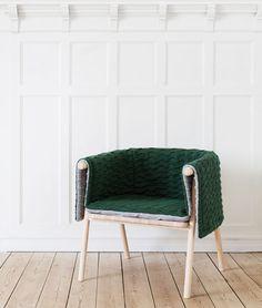 Strik armchair by Kristina Kjær