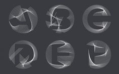 Buchstabengewitter – Dynamic Type That Morphs from A to Z | CreativeApplications.Net #dynamic #typ #buchstabengewitter #morph #typography